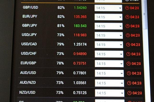 Les 3 paires de devises les plus volatiles
