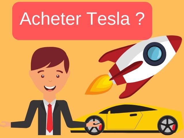 Acheter l'action Tesla