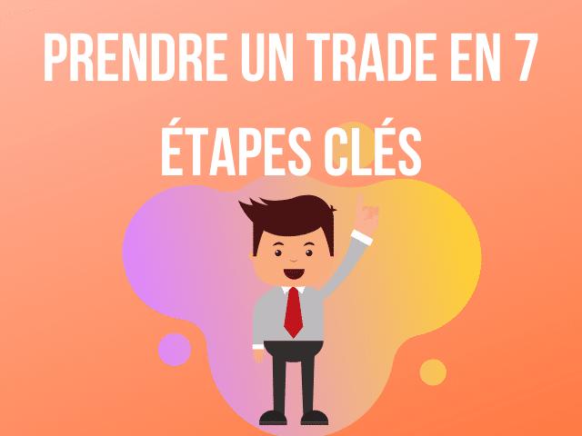 Prendre un trade en 7 étapes clés