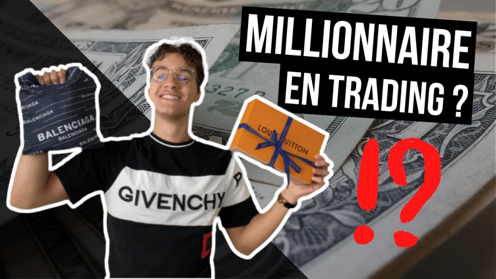 millionnaire en trading rentabilité dévoilée